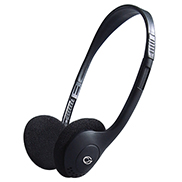 Basic Stereo PC On-Ear Headset with In-Line Mic & Volume Control