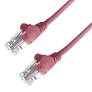 RJ45 CAT6 UTP Stranded Flush Moulded LS0H Network Cable