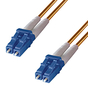 Duplex Fibre Optic Single-Mode Cable OS2 9/125 Micron LC to LC