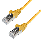 RJ45 CAT6A SSTP Stranded Flush Moulded LS0H Network Cable