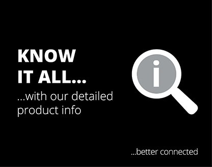 Know it all with our detailed product information!